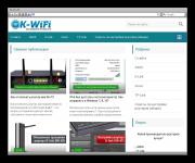 Информационный сайт OK-Wifi